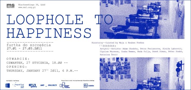 Invitation to Sztuki Exhibition